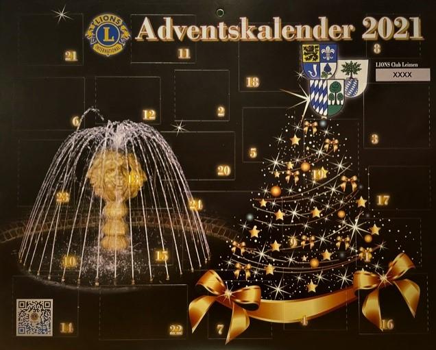Lions, Advents-Kalenderbild 2021